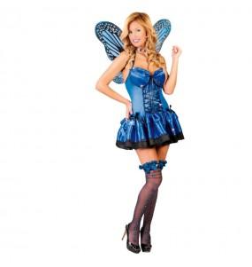 Déguisement Papillon Bleu