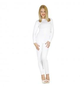 Déguisement Justeaucorps Blanc pour femme