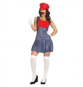Déguisement Plombière Mario
