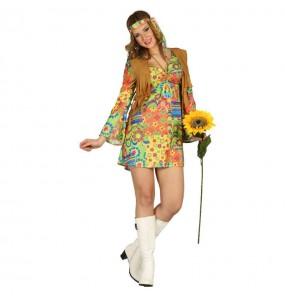 Déguisement Hippie Love femme