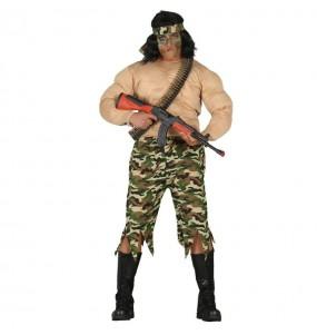 Déguisement Soldat Rambo
