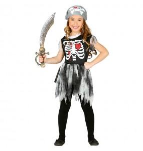 Déguisement Pirate Squelette Fille