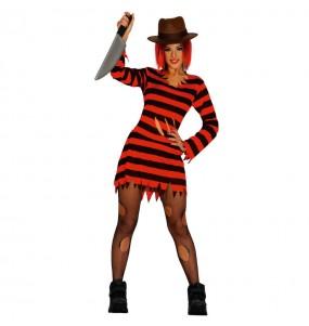 Déguisement Freddy Krueger Femme