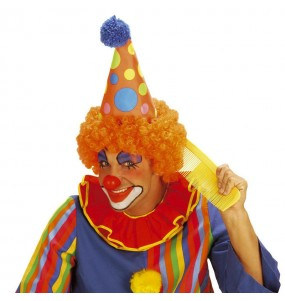 Chapeau Clown avec cheveux
