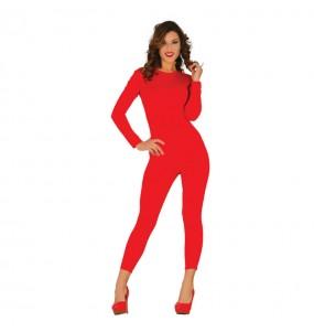 Déguisement Justeaucorps Rouge pour femme