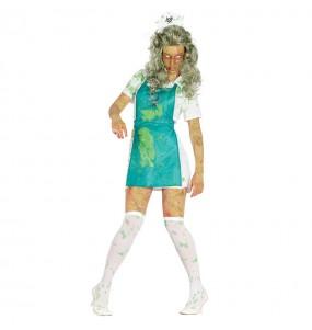 Déguisement Zombie Radioactive Femme