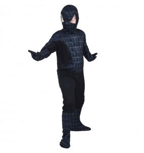 Déguisement Spider noir pour garçon