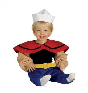 Déguisement Marin Popeye bébé