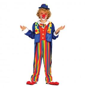 Déguisement Clown Multicolore