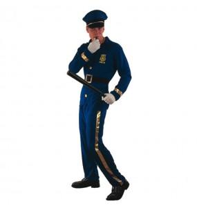 Déguisement Policier bleu