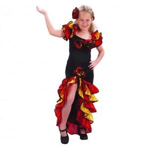 Déguisement Danseuse de Rumba enfant