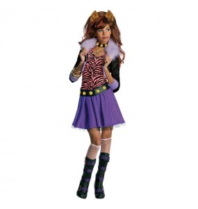 Déguisement Clawdeen Wolf Monster High fille