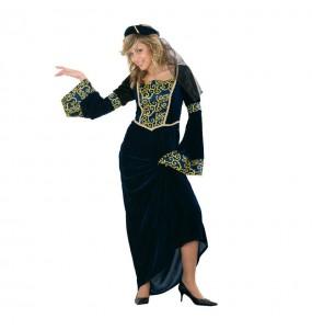 Déguisement Dame Médiévale Jimena adulte