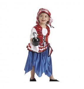 Déguisement Pirate Boucanière petite fille