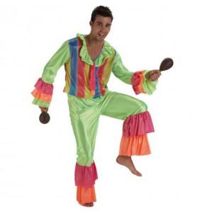 Déguisement Danseur de Rumba Vert adulte