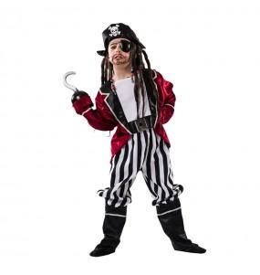 Déguisement Pirate Barbe Noire garçon