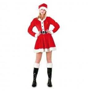Déguisement Mère Noël Santa Claus femme