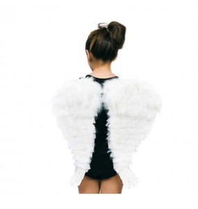 Ailes avec Plumes blanches