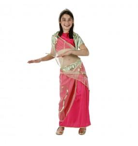 Déguisement Danseuse Arabe Rose enfant