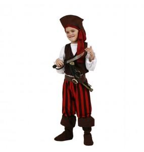 Déguisement Pirate rayé garçon