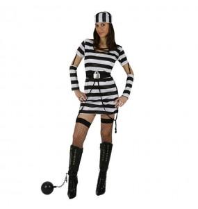 Déguisement Prisonnière courte