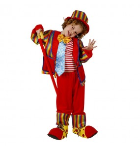 Déguisement Clown Rouge