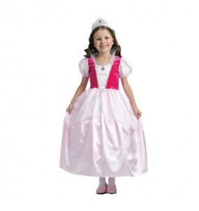 Déguisement Princesse rose contes enfant