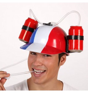 "Casque ""Anti-soif"" France"
