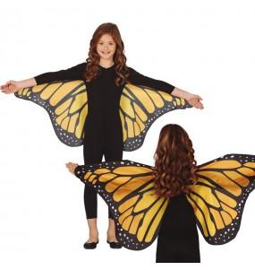 Ailes papillon géantes fille