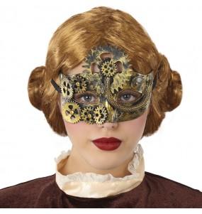 Masque Loup Steampunk Victorien