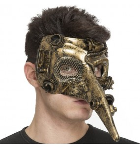 Masque Loup Steampunk