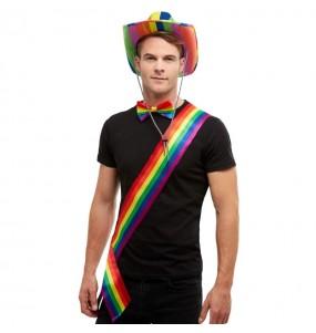 Bande multicolore LGTB