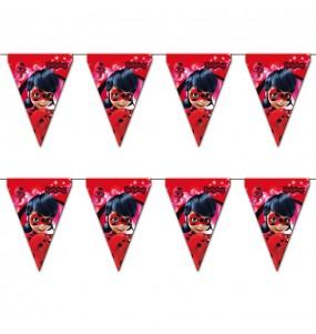 Banderín Cumpleaños Ladybug®