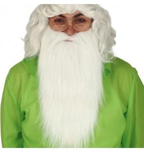 Barbe Nain avec moustache