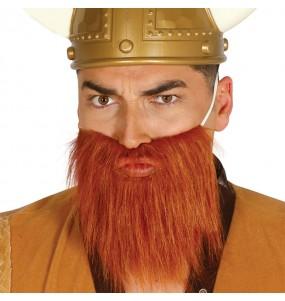 Barbe et Moustache châtaigne
