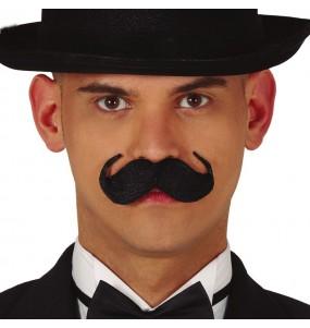 Moustache Anglais Noir