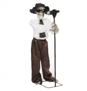 Blues Skeleton décoratif avec mouvement et son