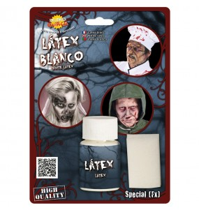 Latex liquide avec éponge
