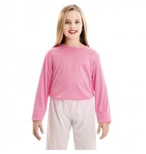 T-shirt rose enfants à manches longues