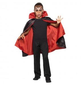 Cape Vampire réversible enfant pour déguisement
