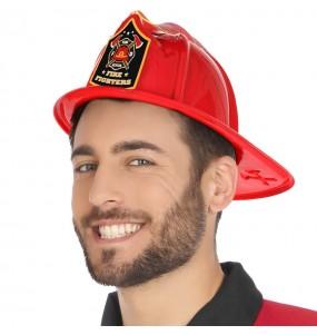 Casque Pompier en plastique adulte