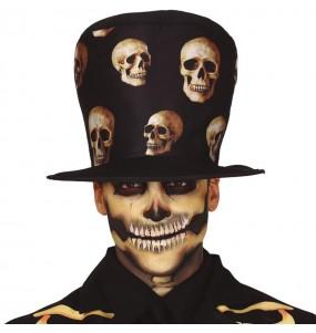 Chapeau Haut de Forme Squelette
