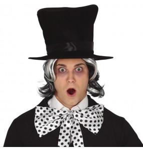 Chapeau haut de forme Noir en velours