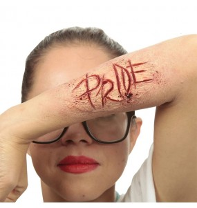 Fausse Cicatrice Fierté en latex