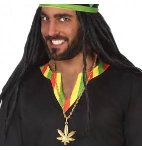 Collier Marihuana Rastafari