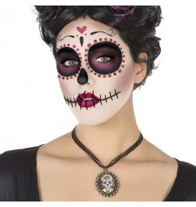 Collier Catrina mexicaine