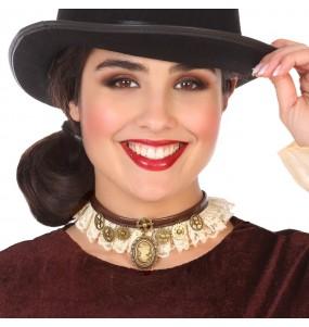 Collier Dame Steampunk
