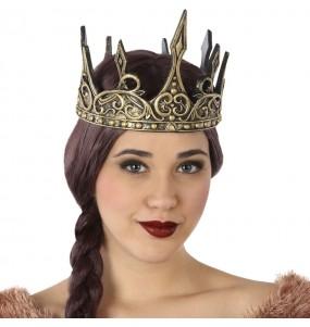 Couronne Reine Médiévale