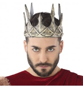 Couronne Roi Médiéval