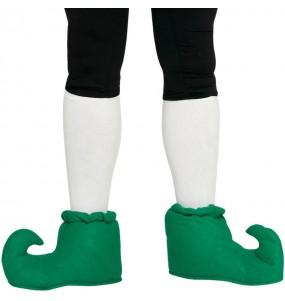 Sur chaussures vertes pour elfe